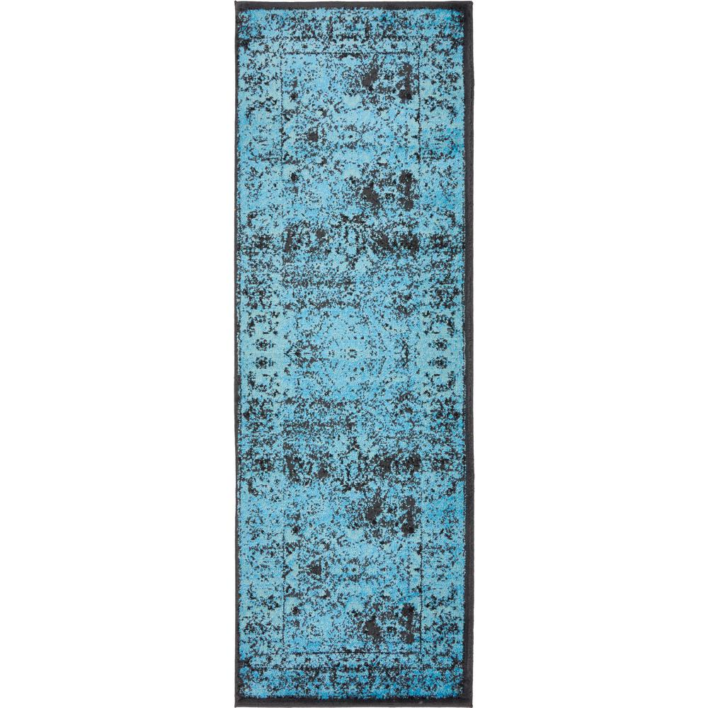 Unique Loom Imperial Bosphorus Turquoise 2' 0 x 3' 0 Area Rug