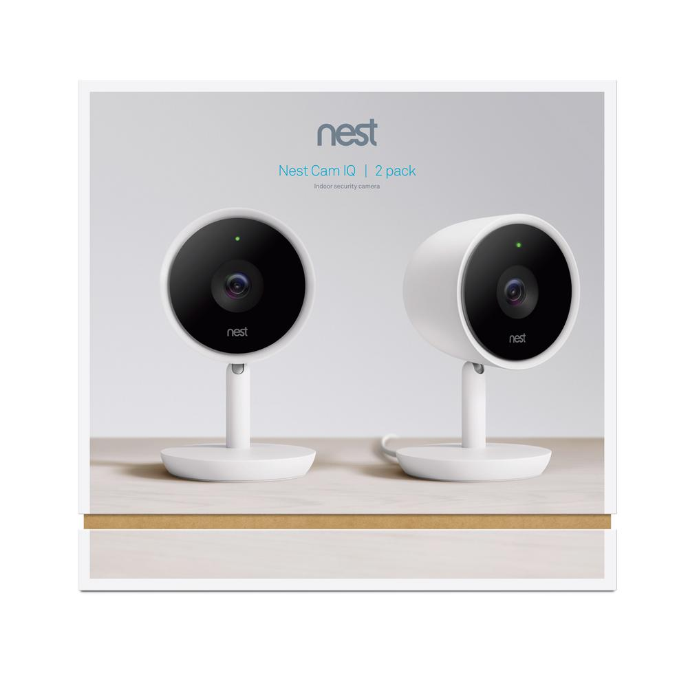 Cam Indoor Iq Smart Wi Fi Security Camera 2 Pack