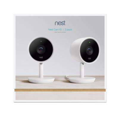 Nest Cam IQ Indoor Security Camera (2-Pack)