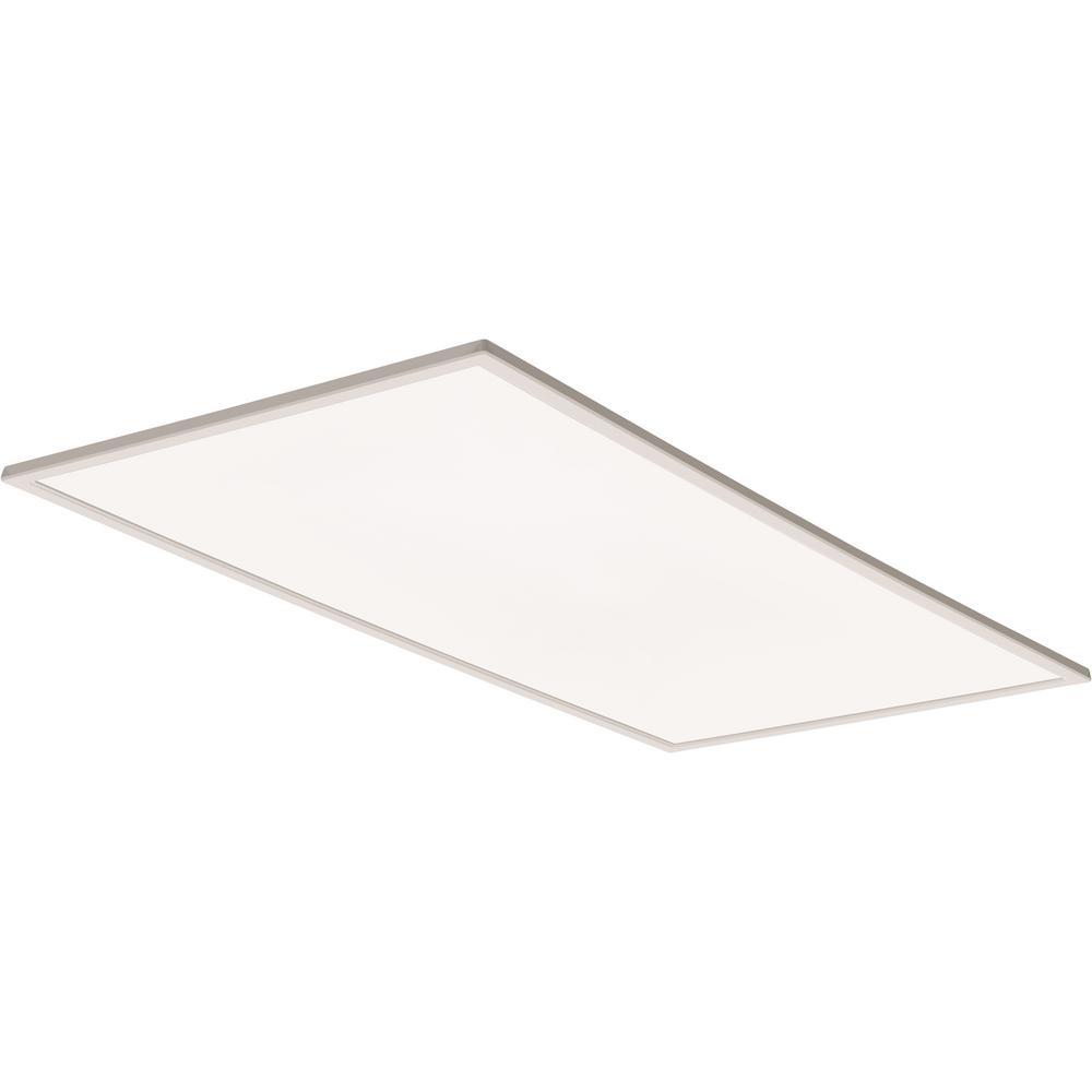 EPANL 2 ft. x 4 ft. White Edge Lit Integrated LED Flat Panel Light, 4039 Lumens 3500K
