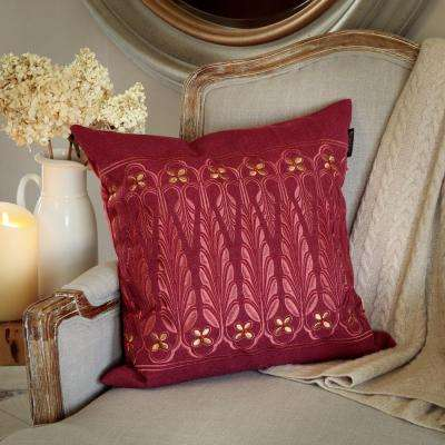 Point de Lac Toss Pillow