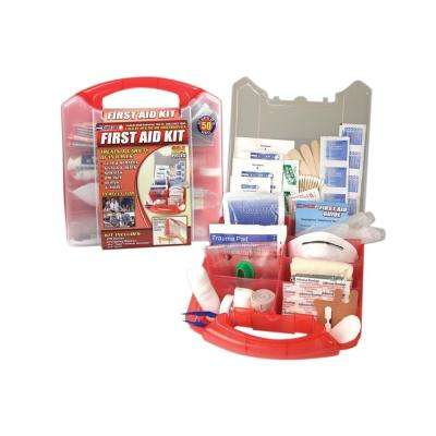 234-Piece Detachable Wall Mount First Aid Kit