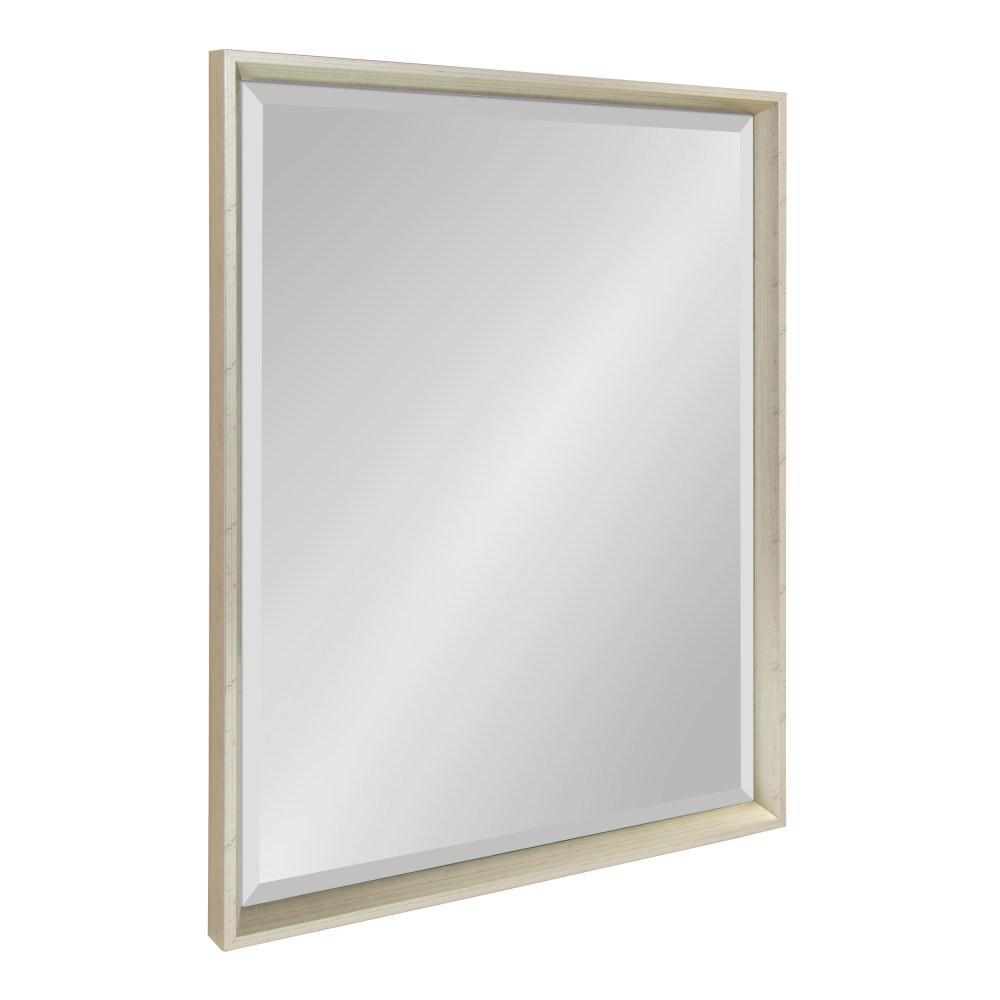 Calder Rectangle Silver Mirror