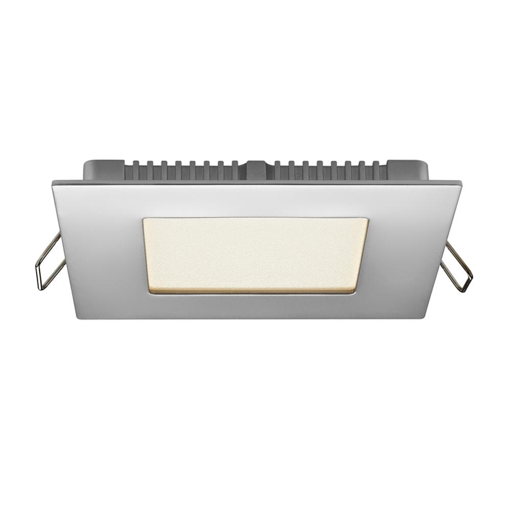 Illume Lighting 4 in. Chrome Integrated LED Recessed Kit
