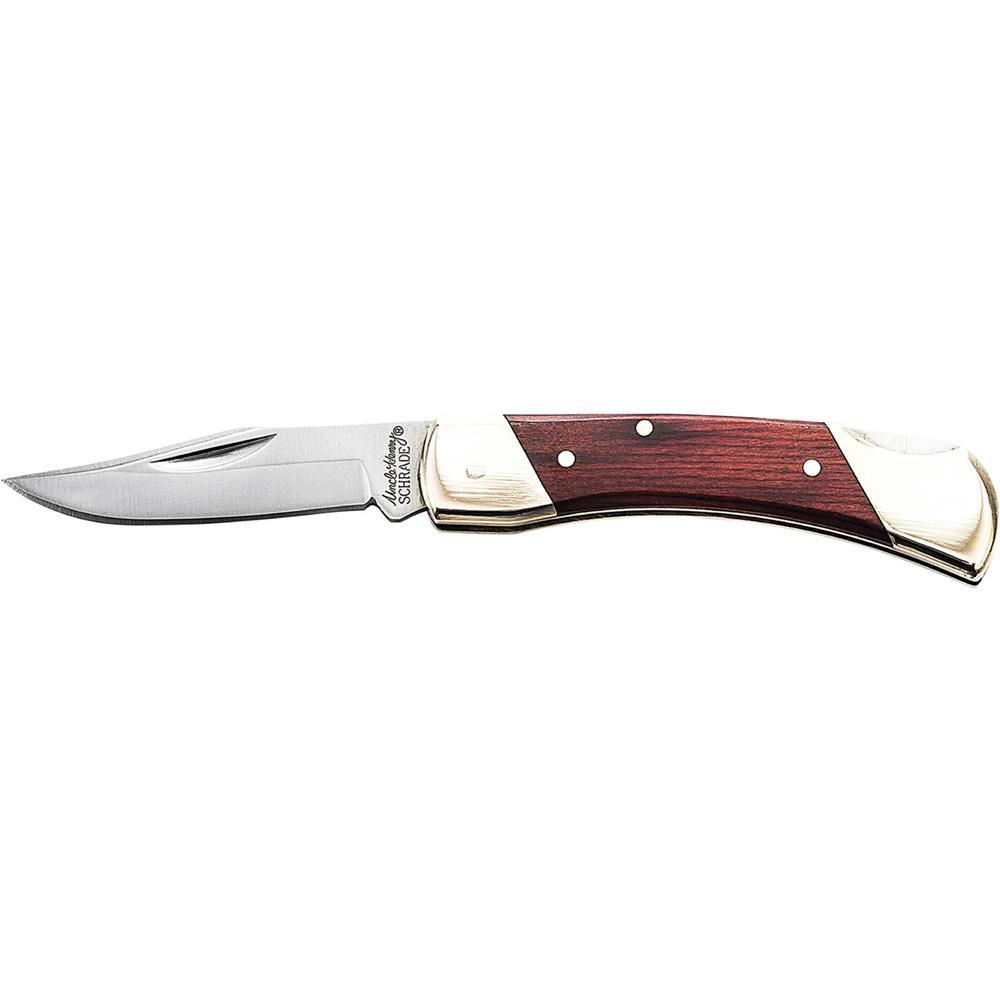 Uncle Henry Brown Bear Lockback Folding Pocket Knife