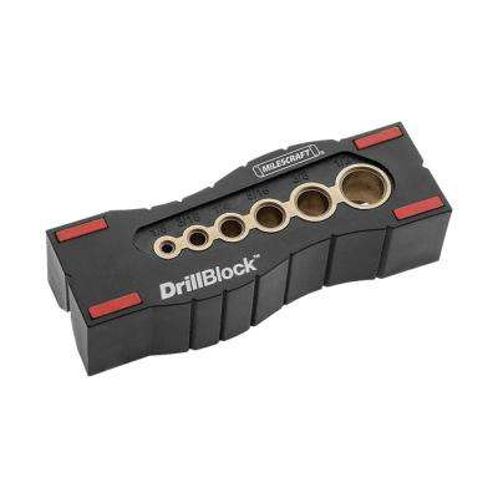DrillBlock Hand-Held Drill Guide