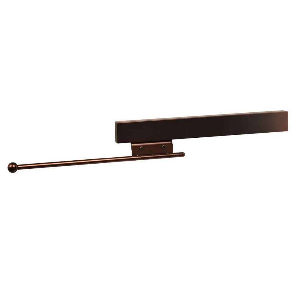 Knape & Vogt Deluxe 50 lb. Capacity Sliding Valet Rod
