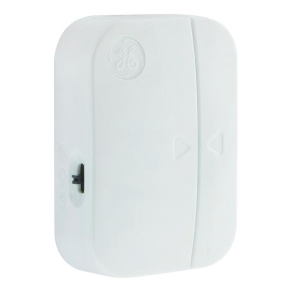 Ideal for Lamps /& Indoor Lighting Range from Plug-in Receiver On//Off or Timed 1 Outlet GE mySelectSmart Wireless Control Door Entry Contact Sensor No Wiring Needed 150 ft 36236