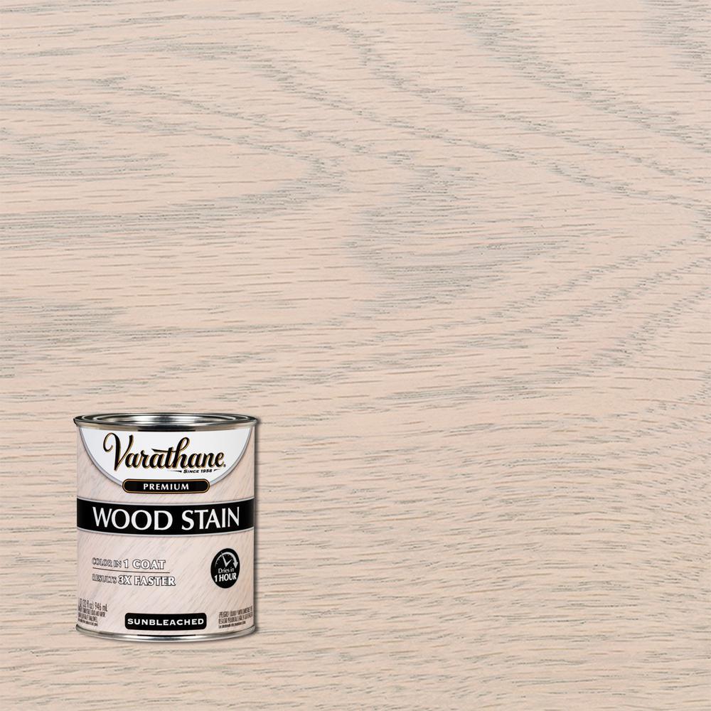 1 qt. Sunbleached Premium Fast Dry Interior Wood Stain
