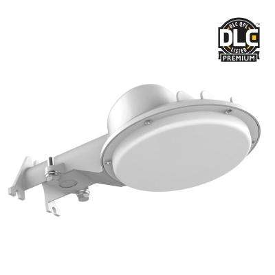 Dusk to Dawn Gray Outdoor Integrated LED Area Light
