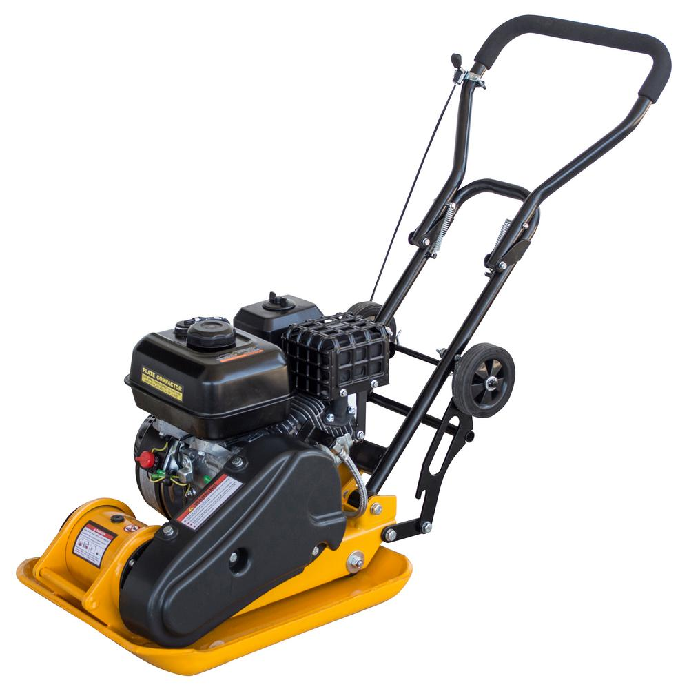 PRO SERIES 6.5 HP 196 cc Plate Compactor w/ 3,000 lbs. Compaction Force