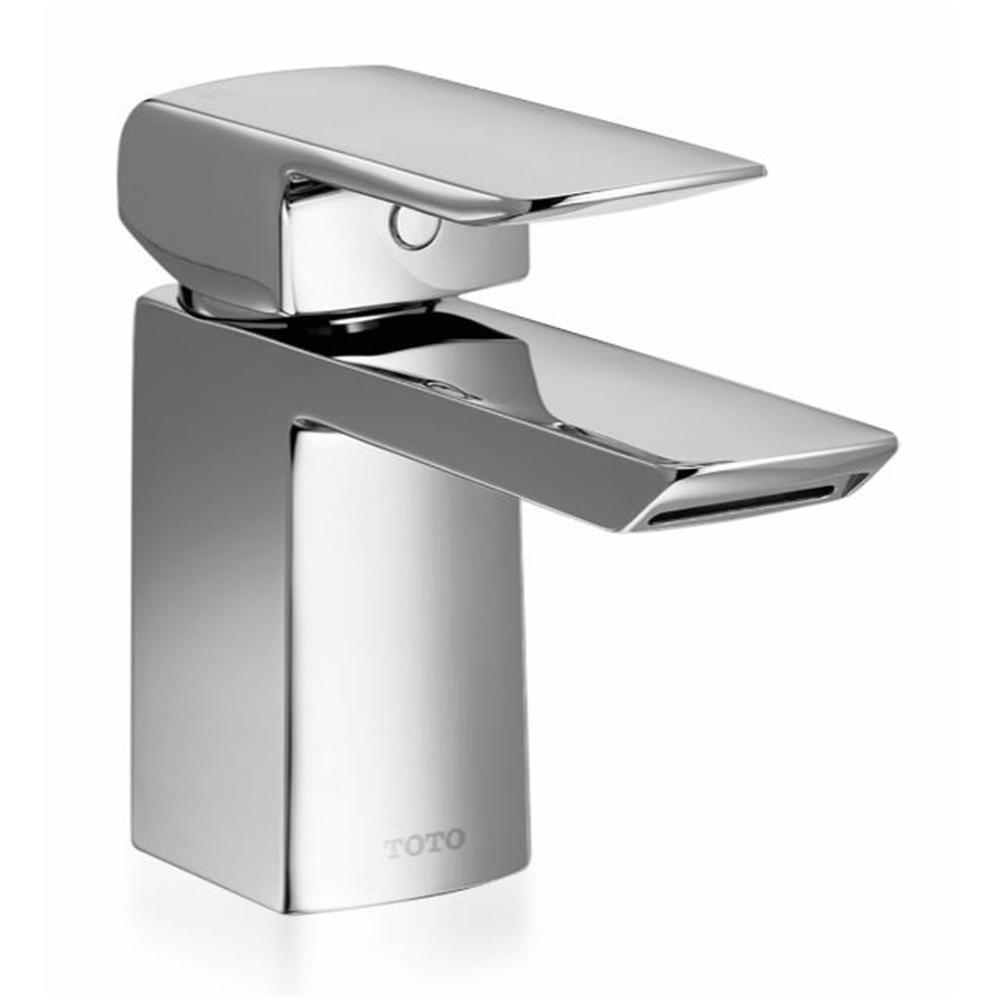 toto soiree single hole single-handle bathroom faucet in polished