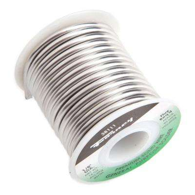 1/8 in. 1 lb. Solid Wire 50/50 Tin Lead Solder