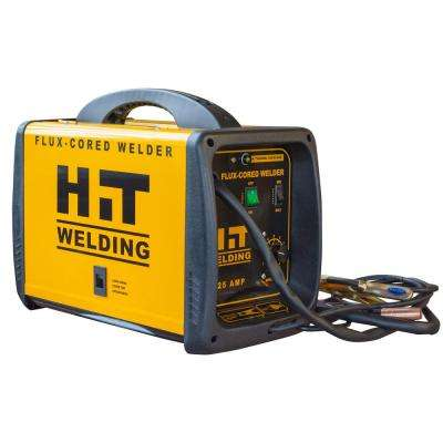 125 Amp 120-Volt Flux-Cored Welder