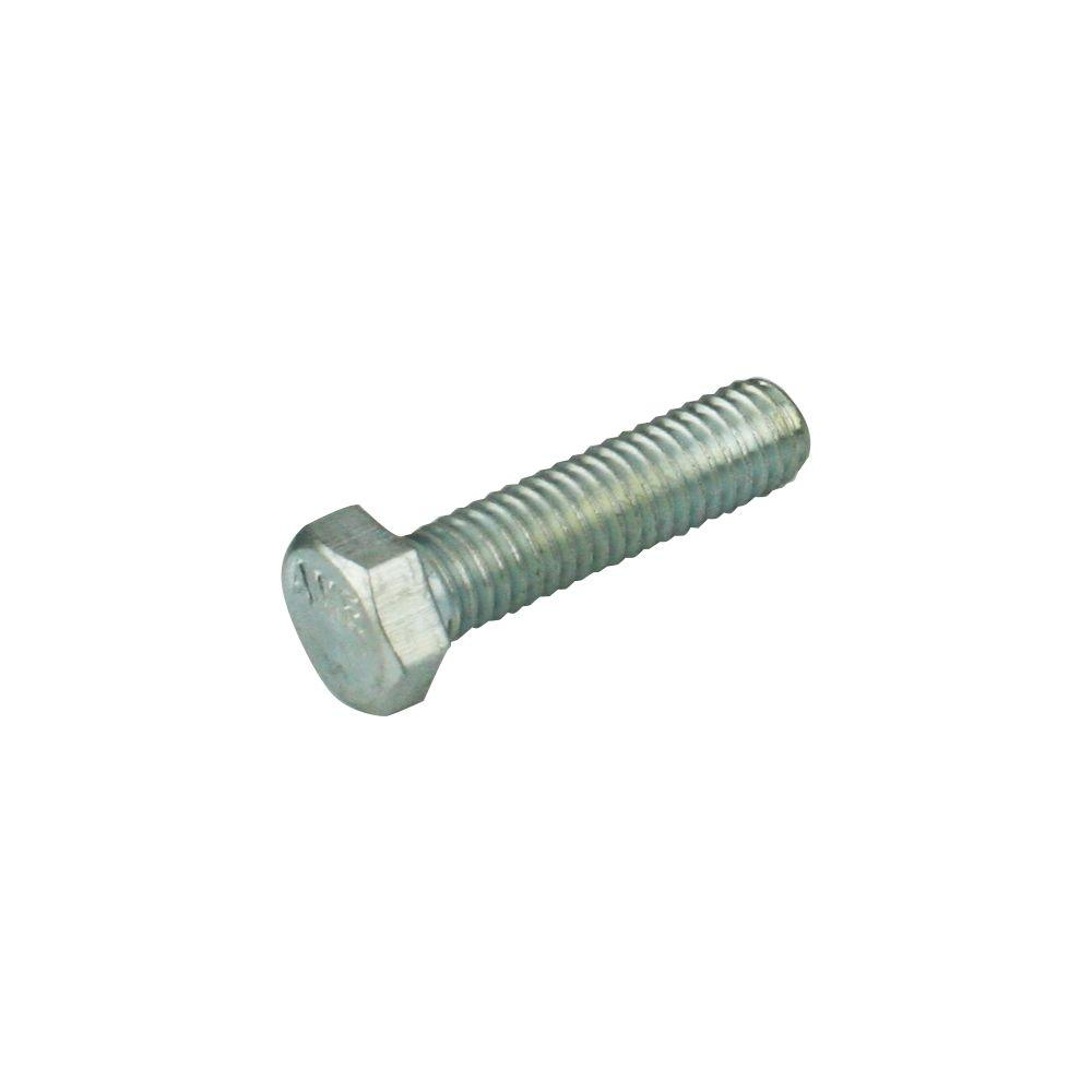 1/2 in. x 1 in. Zinc-Plated Hex Bolt