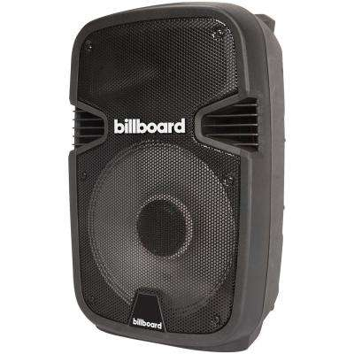 Party Pro 12 in. Powered Speaker in Black