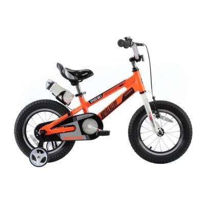 Space No. 1 Aluminum Kids Bikes with 12 in. Wheels in Orange