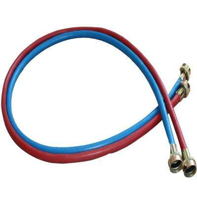 5 ft. Color Coded Washing Machine Fill Hose (2-Pack)