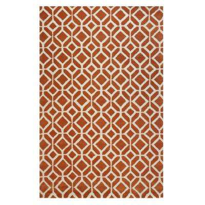 Taza Red 10 ft. x 14 ft. Area Rug
