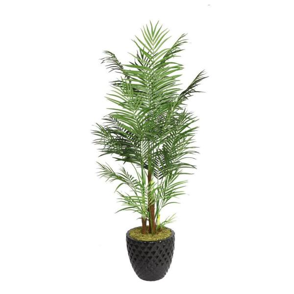 Laura Ashley 82 in. Tall Areca Palm Tree in 16 in.