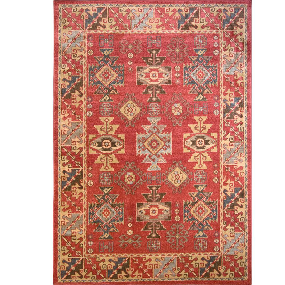 Home Decorators Collection Clic Red 5 Ft X 8 Area Rug