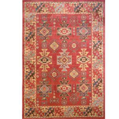 Classic Red 5 ft. x 8 ft. Area Rug