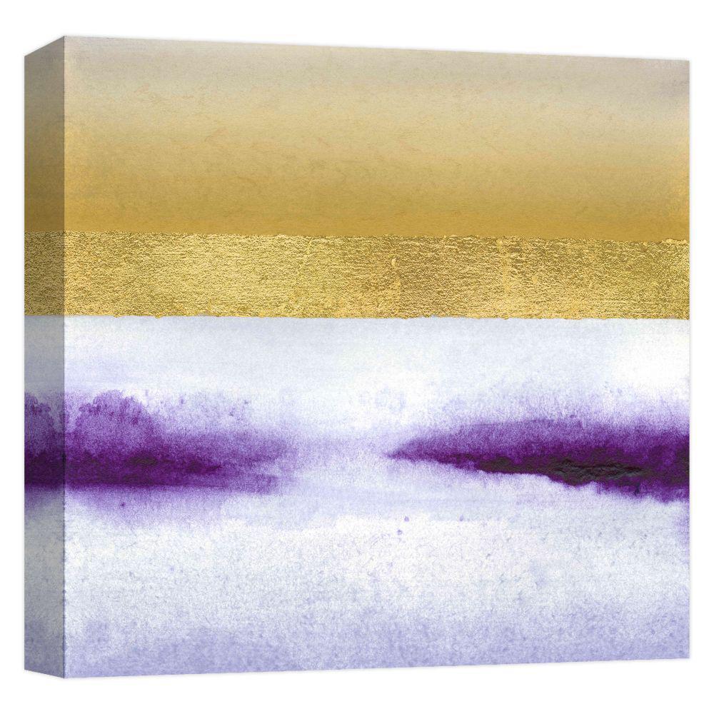 15.inx15.in ''Golden Dusk 3'' Printed Canvas Wall Art