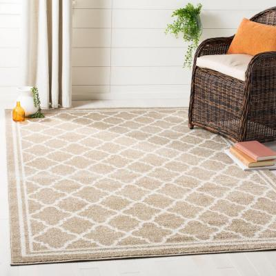 Amherst Wheat/Beige 9 ft. x 12 ft. Area Rug