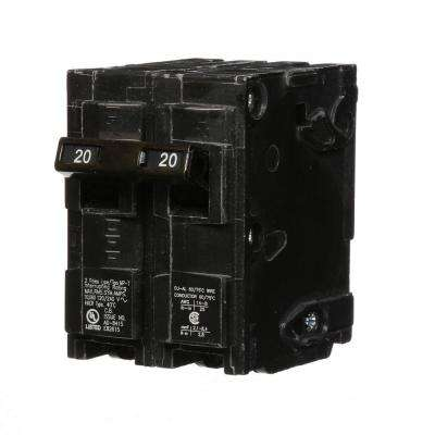 20 Amp Double-Pole Type MP-Circuit Breaker