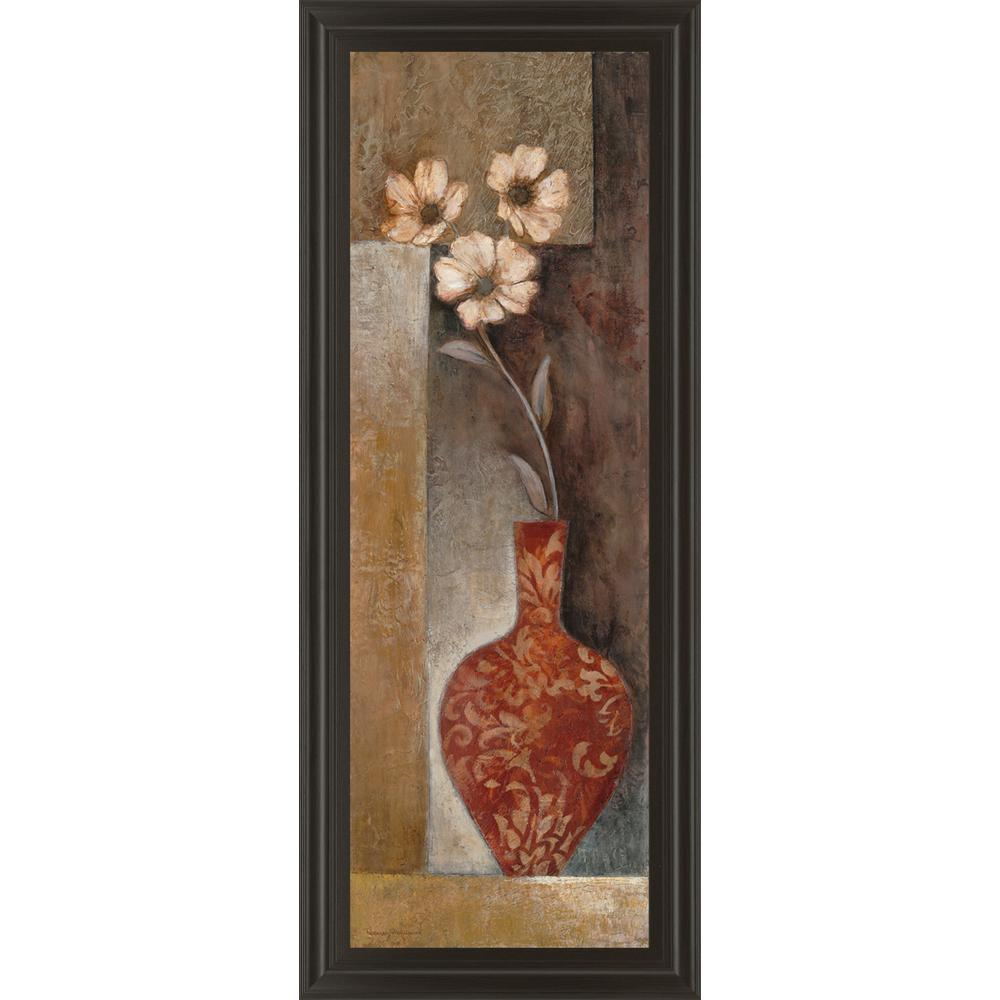 "18 in. x 42 in. ""Baroque Floral II"" by Rosie Abrahams"