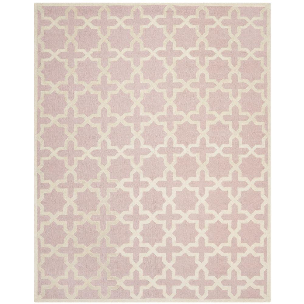 Cambridge Light Pink/Ivory 7 ft. 6 in. x 9 ft. 6
