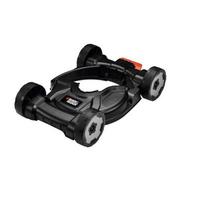 Removable Wheeled Deck for 12 in. Electric Straight Shaft Single Line 3-in-1 String Grass Trimmer/Lawn Edger/Push Mower
