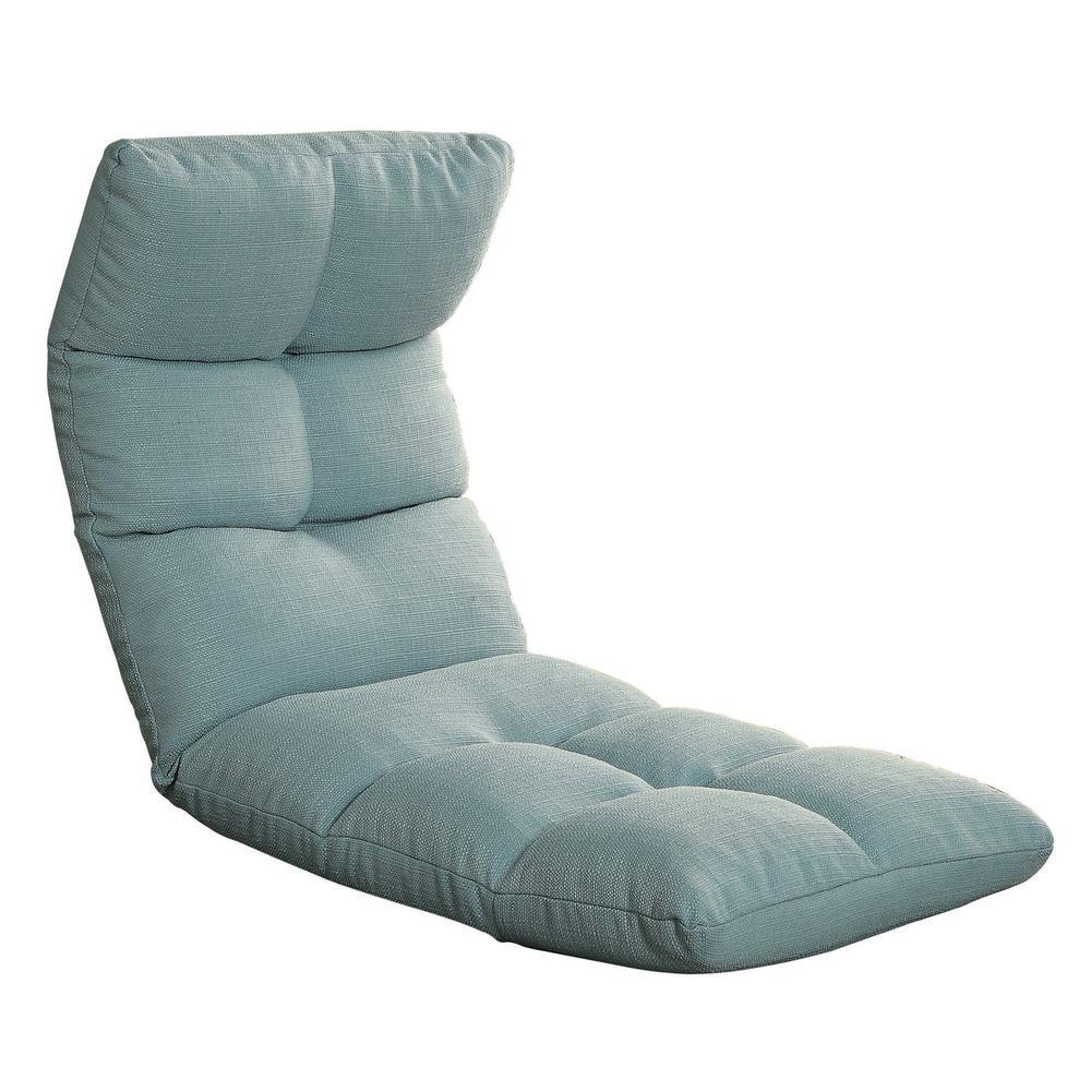 Teal Morris Gaming Floor Chair