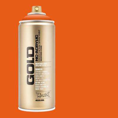 13 oz. GOLD Shock Orange Spray Paint