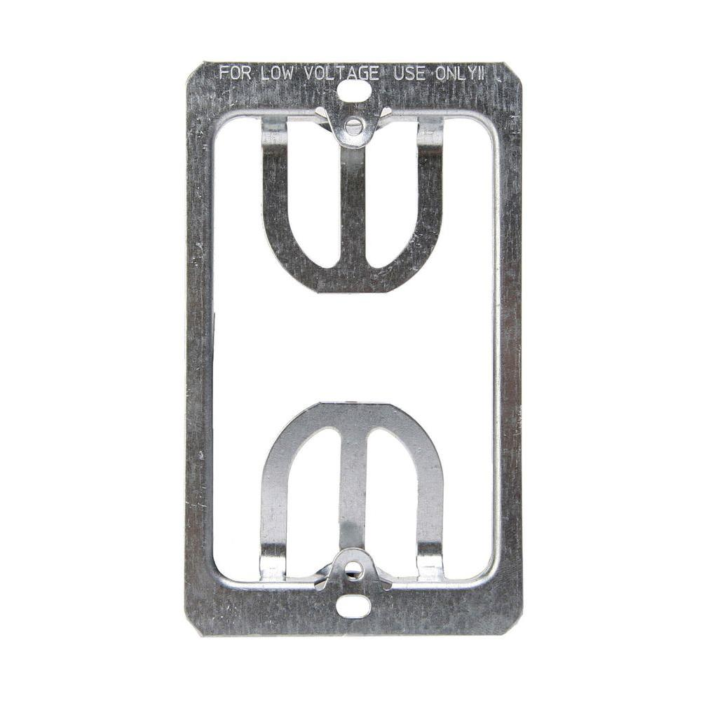 1-Gang Wall Plate Mounting Bracket