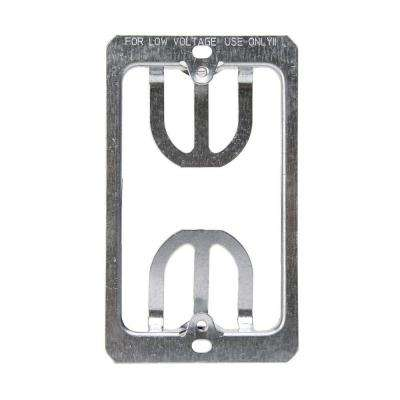 1-gang Low-Volt Wallplate Mounting Bracket (10-Pack)