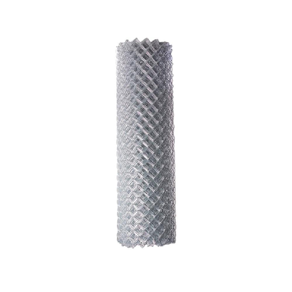 6 ft. x 50 ft. 12.5-Gauge Galvanized Steel Chain Link Fabric