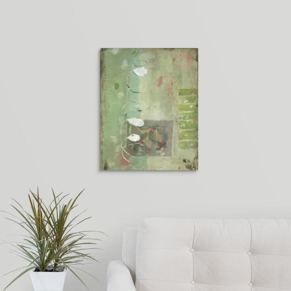 GreatBigCanvas 16 in. x 20 in. ''Spiral'' by Stephanie Lee Canvas