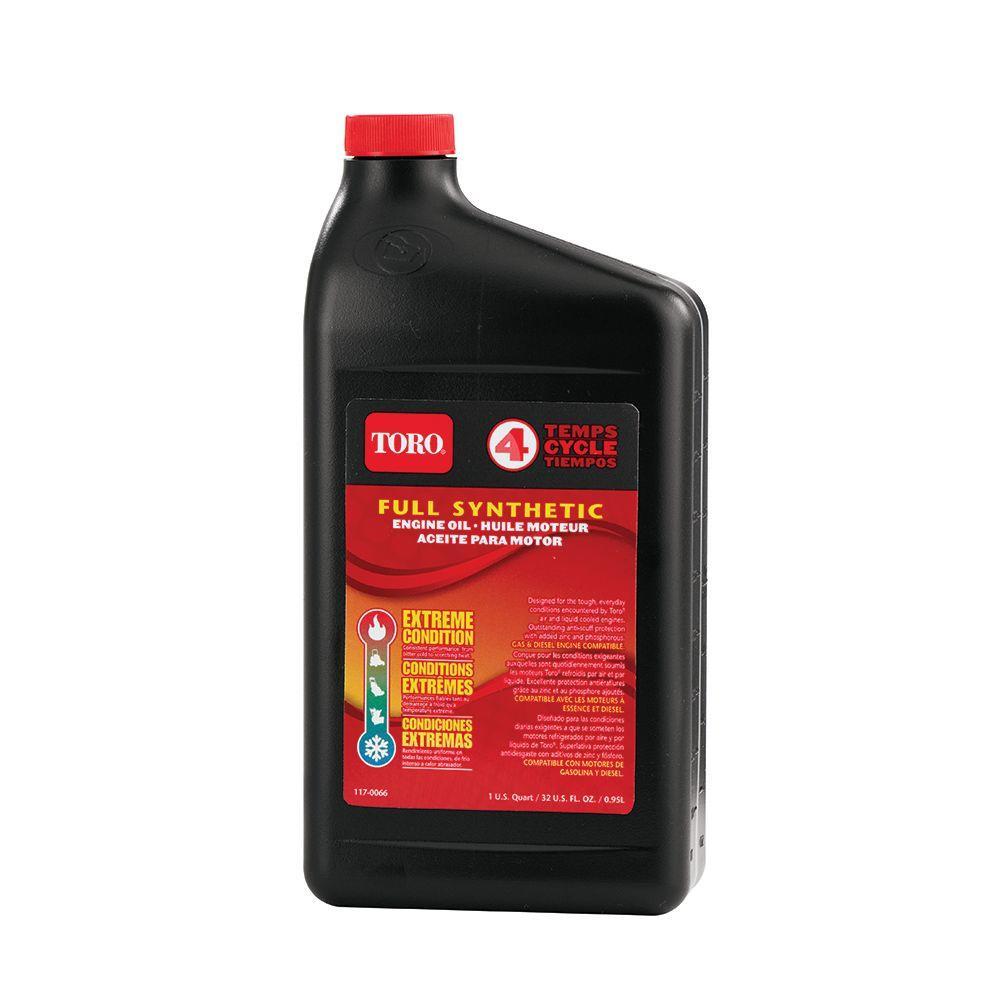 Toro Full Synthetic Oil (32 oz. Bottle) by Toro