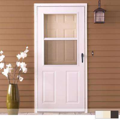 200 Series 1/2 View Self-Storing Storm Door