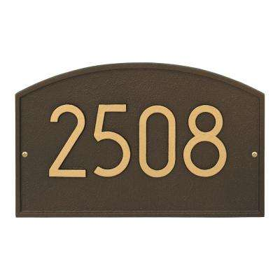 Legacy Modern Personalized Arch Wall Plaque