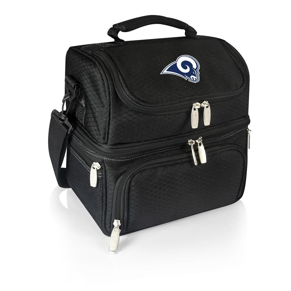 Pranzo Black Los Angeles Rams Lunch Bag