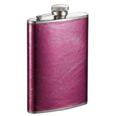 Lydia Hot Pink Liquor Flask
