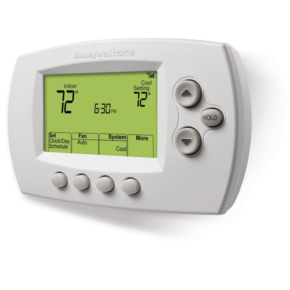 Honeywell Home Wi-Fi 7 - Day Programmable Thermostat + Free App