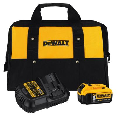20-Volt MAX XR Lithium-Ion Starter Kit with Premium Battery Pack 5.0Ah, Charger and Kit Bag