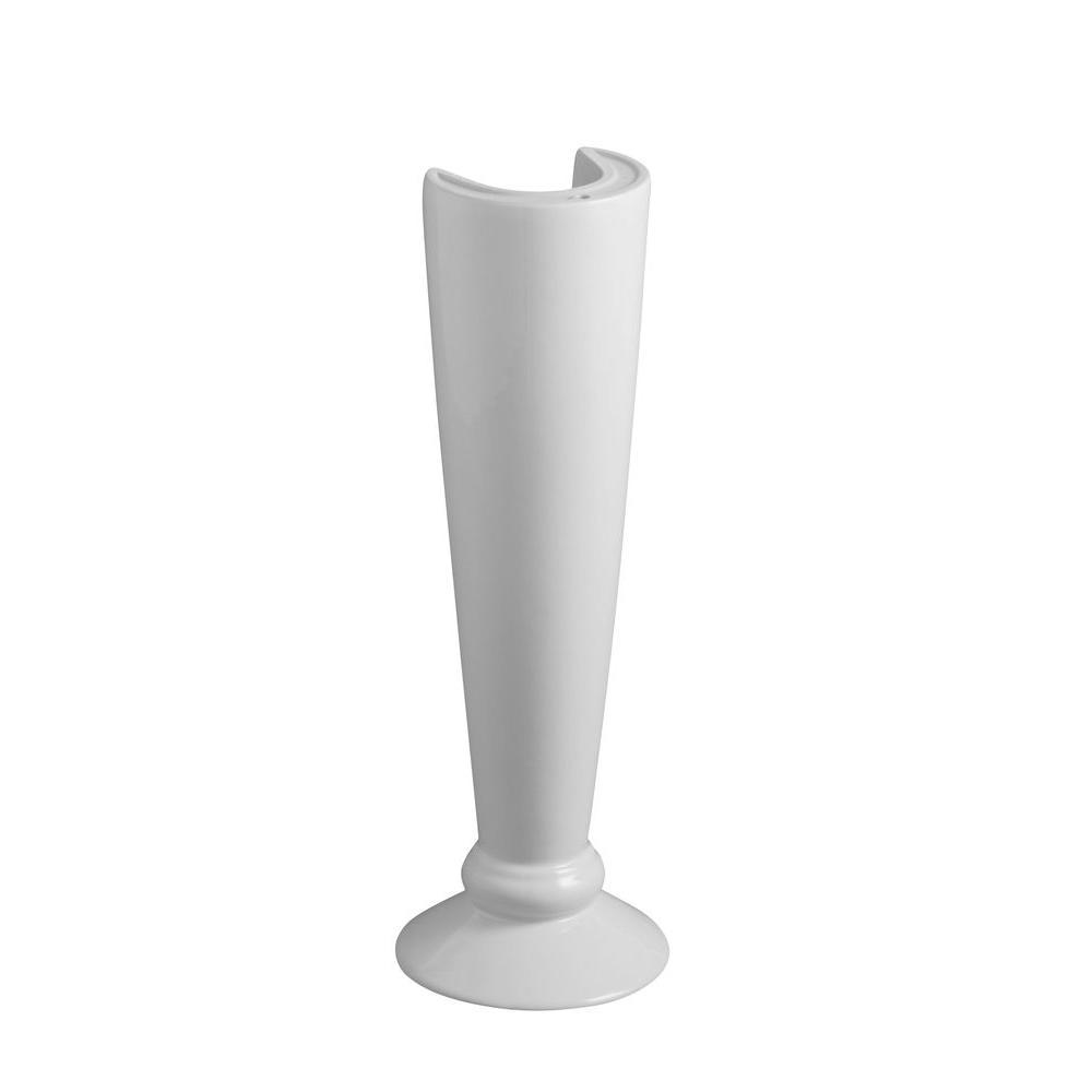 KOHLER Revival Transitional Pedestal in White-DISCONTINUED