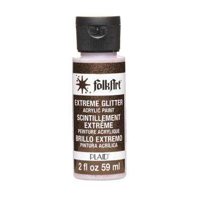2-oz. Black Extreme Glitter Craft Paint