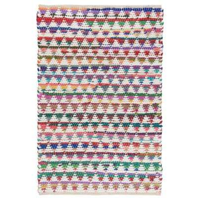Multicolor Chindi 2 ft. x 3 ft. Area Rug