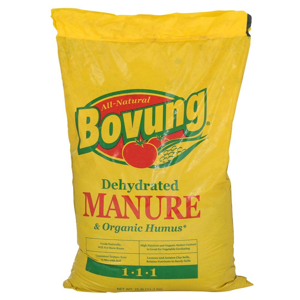 Bovung 25 lb. Dehydrated Manure