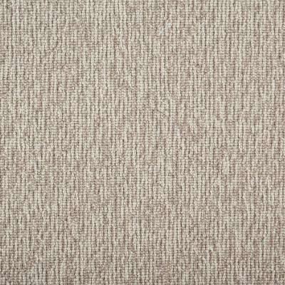 Tidal Tweed Quartz Custom Area Rug with Pad